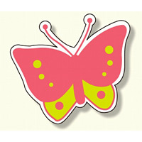 ジョイシール 蝶 ピンク (913-01)