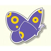 ジョイシール 蝶 紫 (913-02)