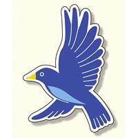 ジョイシール 鳥 紫 (913-23)