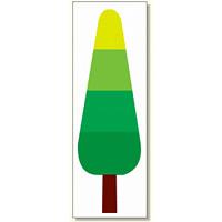 ジョイシール グラデーションツリー (914-21)