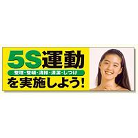 5S運動を実施しよう メッシュシート製 (920-41)