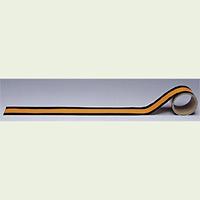 配管テープ JIS安全表示 黄赤 (危険表示) 150幅×2m (AC-14L)