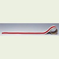 配管テープ JIS安全表示 赤白 (消化表示) 150幅×2m (AC-15L)