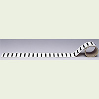 配管テープ 方向表示 矢印黒 白 (その他・方向表示)  150幅×2m (AC-17L)