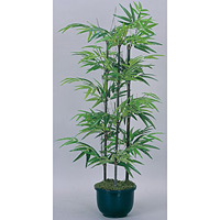 【送料無料】黒竹 (人工観葉植物) 高さ100cm 光触媒 (176A120)