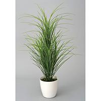 【送料無料】グラスツリー (人工観葉植物) 高さ78cm 光触媒 (214A85)