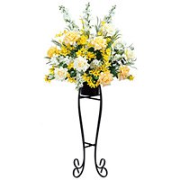 【送料無料】ハニークイーン (造花) 高さ154cm 光触媒 (302A400)