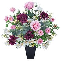 【送料無料】フレグランス (造花) 高さ49cm 光触媒 (315A100)