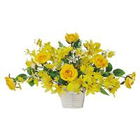 サンプリーズ (造花) 高さ28cm 光触媒 (333A40)