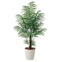 【送料無料】アレカパーム (人工観葉植物) 高さ150cm 光触媒 (410A300)