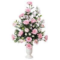 ポールスピンク (造花) 高さ59cm 光触媒 (41A80)
