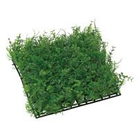 ミニユーカリミックスマット (壁掛け/壁面用人工観葉植物) 高さ10cm 光触媒 (443A35)