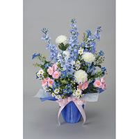 パナマブルー (造花) 高さ62cm 光触媒 (44A70)