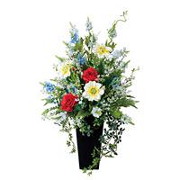 【送料無料】グランディア (造花) 高さ82cm 光触媒 (456A200)