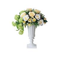 【送料無料】クリームカップ (造花) 高さ53cm 光触媒 (458A200)