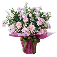アイスルピンク (造花) 高さ50cm 光触媒 (464A80)