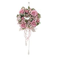 プチリースP (壁掛タイプ) (造花) 高さ15cm 光触媒 (488A25)