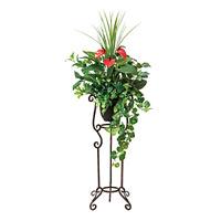 【送料無料】ミックスグリーンスタンド Sサイズ (人工観葉植物) 高さ100cm 光触媒 (504A250)