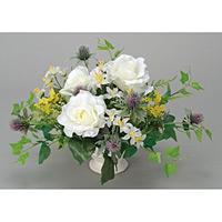 クリアローズ (造花) 高さ23cm 光触媒 (52A50)