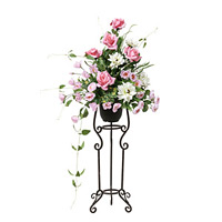 【送料無料】チェスターピンク (造花) 高さ91cm 光触媒 (536A250)