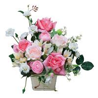 ピンクエフ (造花) 高さ32cm 光触媒 (542A50)