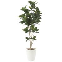 【送料無料】パンの木1.25 (人工観葉植物) 高さ125cm 光触媒機能付 (611E200)