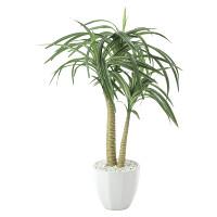 ユッカポット (人工観葉植物) 高さ50cm 光触媒機能付 (630A80)