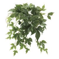 壁掛メイプルアイビー (壁掛タイプ) (造花) 高さ45cm 光触媒 (649A35)