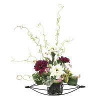 丹頂 (壁掛タイプ) (造花) 高さ61cm 光触媒 (670A80)