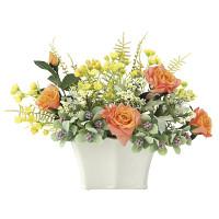フェイスカラー (造花) 高さ22cm 光触媒 (674A50)