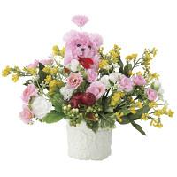 ラブリー (造花) 高さ22cm 光触媒 (708A38)