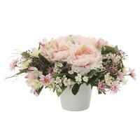 スコープローズ (造花) 高さ17cm 光触媒 (762A35)