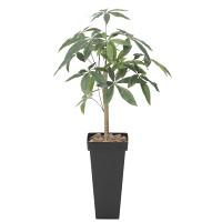 【送料無料】スリムパキラ (人工観葉植物) 高さ100cm 光触媒 (826A120)