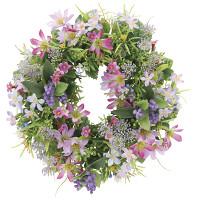 ミックスリースL (壁掛タイプ) (造花) 高さ30cm 光触媒 (852A45)