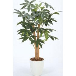【送料無料】パキラ 90 (人工観葉植物) 高さ90cm 光触媒機能付 (209A100)