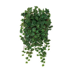 壁面緑化アイビー (人工観葉植物) 高さ65cm 光触媒機能付 (442C70)