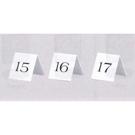 表示プレートH 卓上プレート アクリル 番号札 表示:1~10
