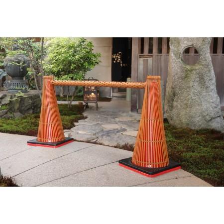 和コーン・竹製コーンバーの使用例2