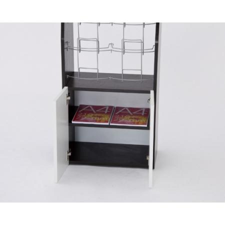 予備のカタログを、平置きで収納しておける便利なボックス。