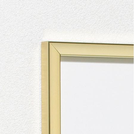 シンプルフレーム(画像のフレームカラーはゴールドです。)