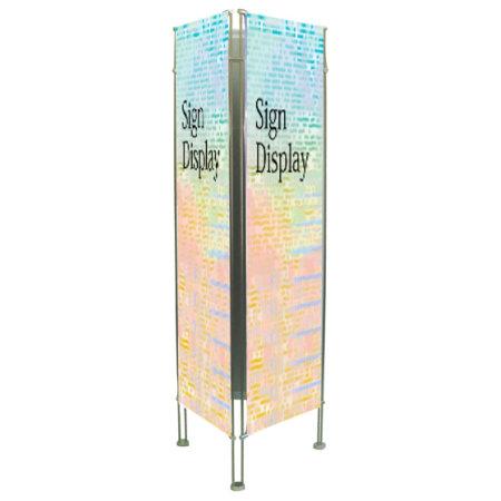 クリエイティブバナーズタワー スリーサイン(3面) H2000