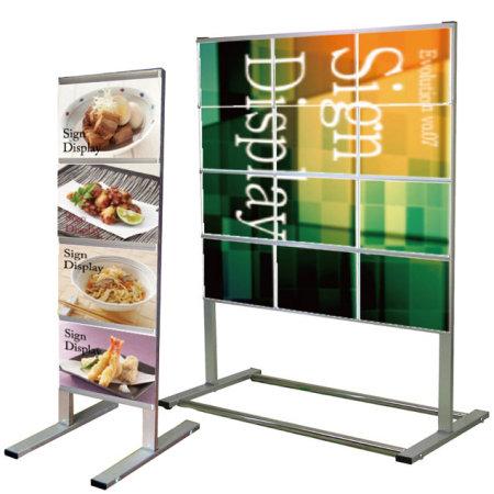 A4サイズ用垂直型カードケースメッセージスタンド CCMSシリーズ
