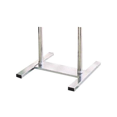 ■ツインポール専用の丈夫な脚部が幅広パネルも安定して支えます。
