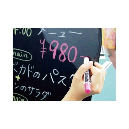 ■ボード用マーカー(水性マーカー)で何度でも書き消しできます。(マグネットは不可)