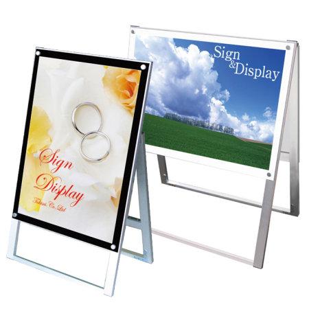 化粧ビス式ポスター用スタンド看板 PSSK B2シリーズ