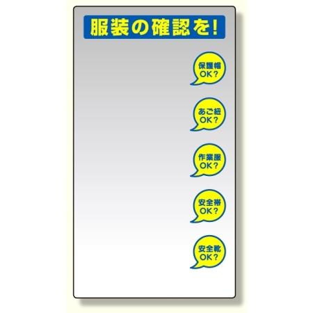 服装チェックミラー壁用 (308-14)