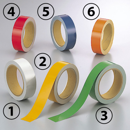 反射テープ (セパ付) 30mm幅×10m巻