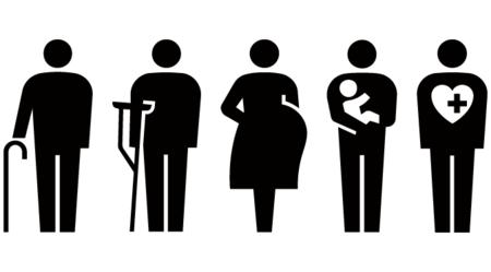 ISO認定。妊婦や乳幼児連れなど、優先標識に新しいピクトサインが誕生