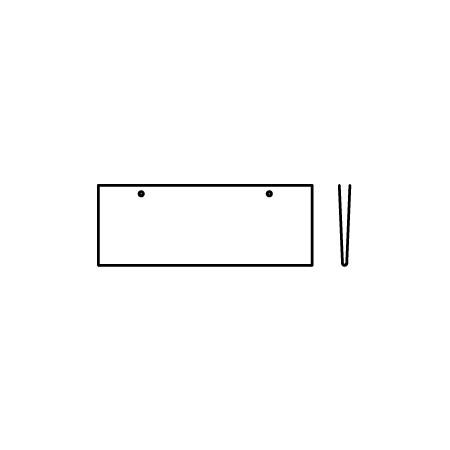 ■上部二箇所穴 ひも付属