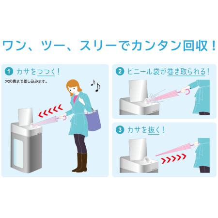 ■簡単!スリーステップでラクラク回収!